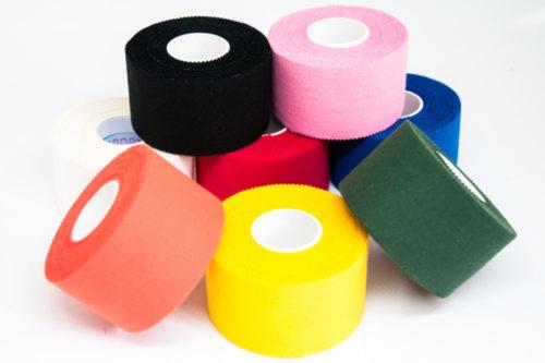 Il tape sportivo colorato di Tape4Sport.